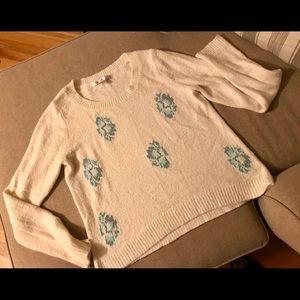Lauren Conrad Med creme sweater soft